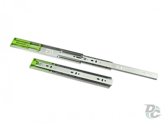 Ball bearing slide Push To Open L-600mm H-45mm DC PremiumLine