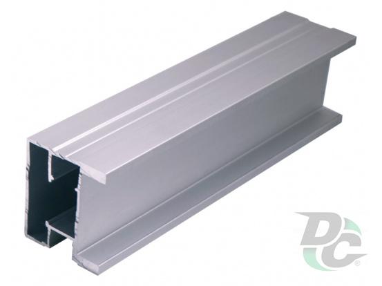 Vertical profile SQUARE L-5,1m Silver DC StandardLine