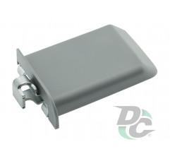 Adjustable RIGHT cabinet hanger Grey DC StandardLine