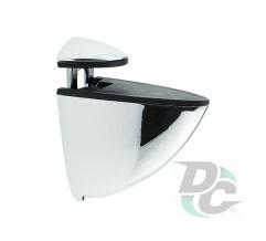 Shelf suppot 57x52 mm Chrome DC OptimaLine