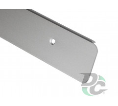 U-shaped Aluminium profile for worktop left 28mm DC OptimaLine