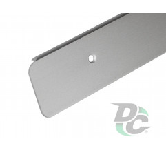 U-shaped Aluminium profile for worktop right 28mm DC OptimaLine