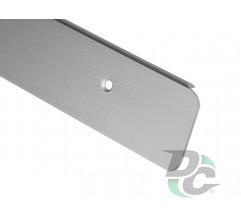 U-shaped Aluminium profile for worktop left 38mm DC OptimaLine