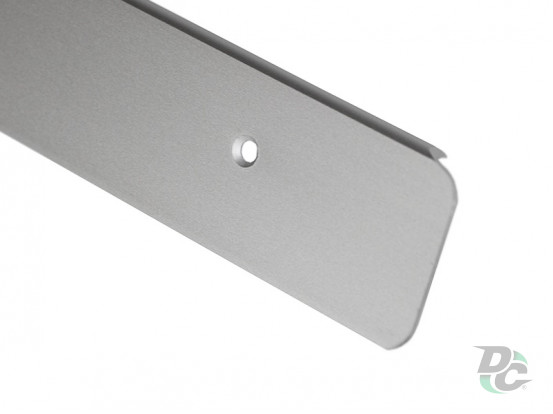 U-shaped Aluminium profile for worktop left 38mm DC OptimaLine