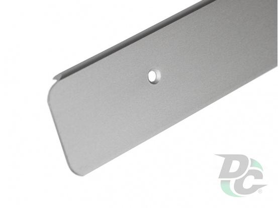 U-shaped Aluminium profile for worktop right 38mm DC OptimaLine