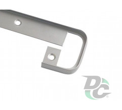 Docking strip straight  U-type for table top 38mm DC OptimaLine