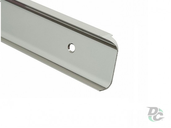 Docking strip angular U-type for table-top 28 mm DC OptimaLine
