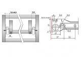 Roller slides L -600 mm  DC StandardLine