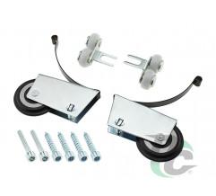 Set of rollers for closed profile DC StandardLine