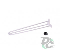 Hairpin table leg H-710 with protector feet White DC StandardLine