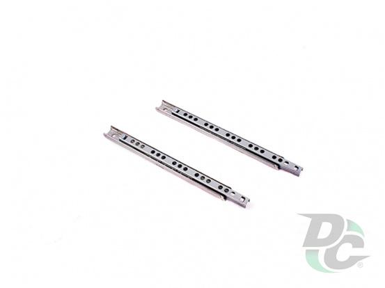 Cut-in ball bearing slides L-182 mm DC StandardLine