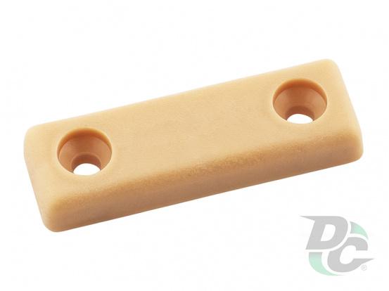 Plastic leg for two srews 5x15x50 mm Beech DC