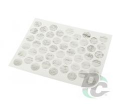 Confirmat screw self-adhesive cap Country Label 0268