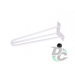 Hairpin table leg H-400 with protector feet White DC StandardLine