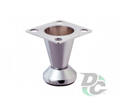 Adjustable furniture leg NL 30/50 G2 Chrome H-50mm conic DC StandardLine