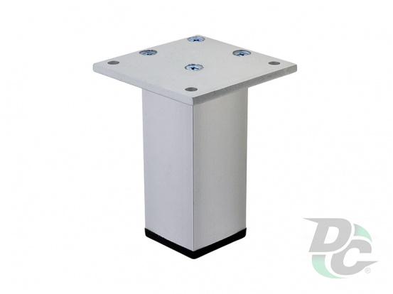 Furniture leg DA 02/100 AL Aluminum DC StandardLine
