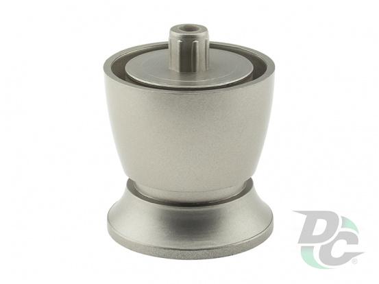 Adjustable plastic furniture leg DPN 01G5 / G5 Matte Nickel (Satin) DC