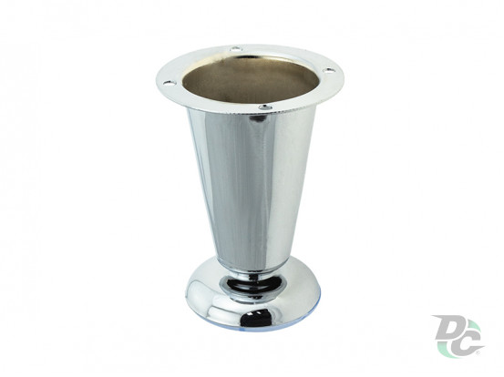Adjustable furniture leg DZ 09/100 G2 Chrome H-100mm DC Standard Line