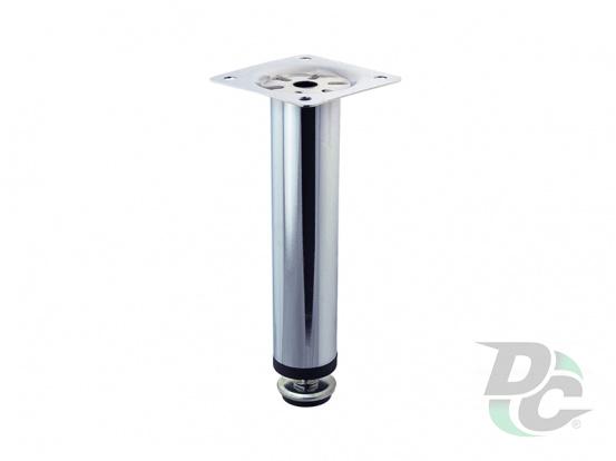 Adjustable furniture leg NL 05/150 G2 Chrome H-150mm D-30mm DC