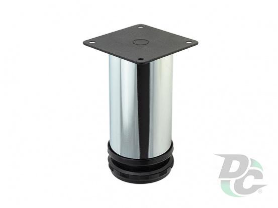 Adjustable furniture leg NL 14/100R  G2 Chrome G2 Хром H-100mm D-50mm DC StamdardLine