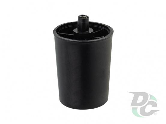 Plastic adjustable leg 70x50 mm Black