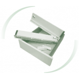 Тандембоксы Slim ДС ПремиумЛайн (Белые) на ДСП 18мм