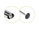 Bending table leg H-710 mm  Chrome DC StandardLine