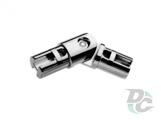 R-41/25 hinge for tube d-25mm DC