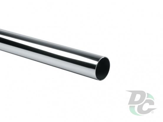 Tube D-25mm L-3000mm 0.6mm Chrome DC
