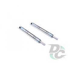 Ball bearing slide L-550mm H-35mm DC EuroLine