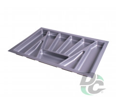 Cutlery tray into section 700 mm Metallic VERSO