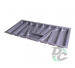 Cutlery tray into section 800 mm Metallic VERSO