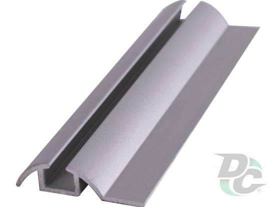 Down single rail L-5,5m Silver DC OptimaLine
