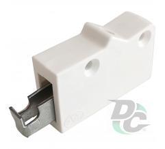 Universal adjustable cabinet hanger White  DC (OL)