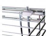 Side-mounted drawer basket   300/2 Chrome DC (SL)