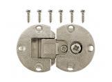 Adjustable cupboard hinge Nickel DC StandardLine
