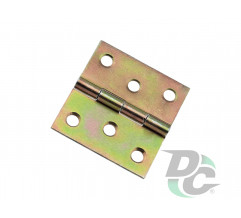 ZS 10 window leaf overlay hinge 40x40 mm
