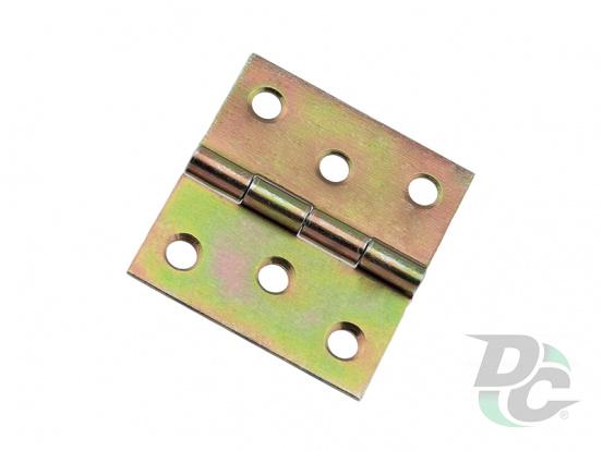 ZS 10 window leaf overlay hinge 40x40 mm