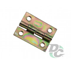 ZS 10 Gate overlay hinge mini 25х25 mm