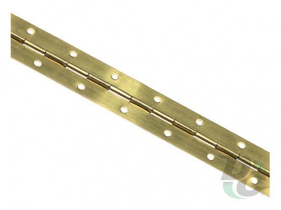 Piano hinge Gold