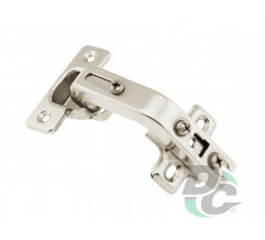 Hinge with 25-90° adjusting at folding door DC StandardLine