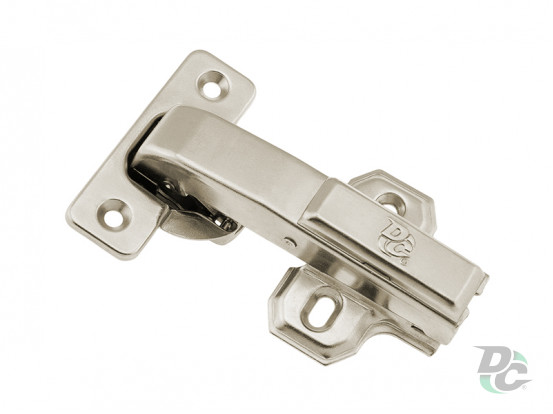 Gas spring hinge 180 ° Clip On with mounting at blank door DC StandardLine