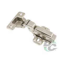 Half-overlay hinge with gas spring Clip On DC StandardLine