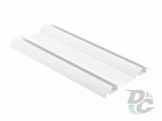 Down rail L-5,5m White Gloss DC OptimaLine