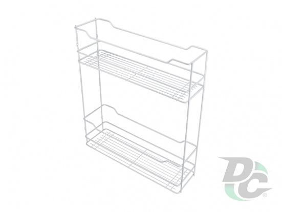 Drawer basket 150/2 White left / right DC