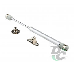 Gas spring for chipboard 80N opening down 2 fasteners DC StandardLine