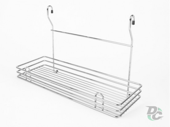 Big rail single wire rack Chrome