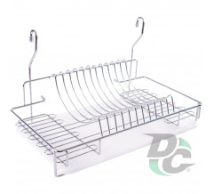 Dryer for railing L-500mm Chrome DC