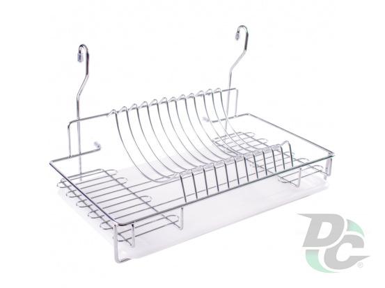 Dryer for railing L-500mm Chrome DC