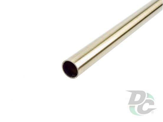 Rail tube L-1000mm Brass DC StandardLine